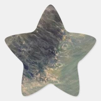 Adesivo Estrela Maré do rasgo