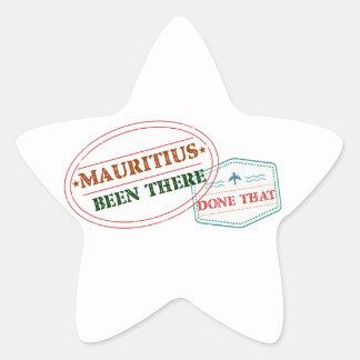Adesivo Estrela Maurícia feito lá isso
