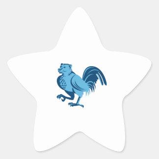 Adesivo Estrela Meia marcha do híbrido da meia galinha do urso
