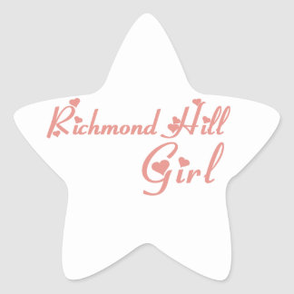 Adesivo Estrela Menina de Richmond