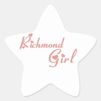 Adesivo Estrela Menina do monte de Richmond