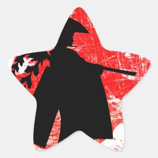 Adesivo Estrela Menina japonesa