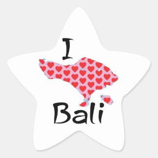 Adesivo Estrela Mim coração Bali