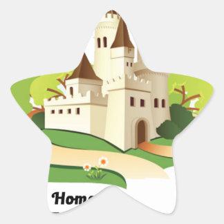 Adesivo Estrela minha casa meu castelo