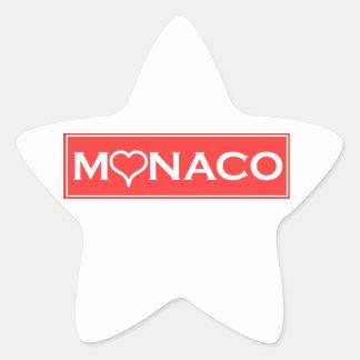 Adesivo Estrela Mónaco