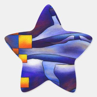 Adesivo Estrela Montessimia V1 - fósseis antigos