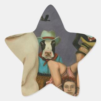 Adesivo Estrela Mostra arrepiante