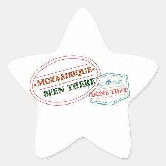 Adesivo Estrela Mozambique feito lá isso