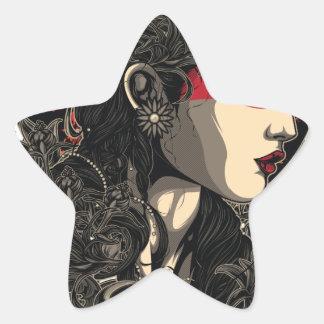 Adesivo Estrela Mulher da ascensão Sun