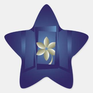 Adesivo Estrela na janela
