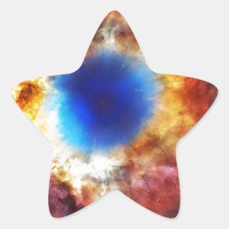 Adesivo Estrela Nebulosa da hélice