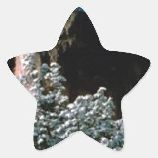 Adesivo Estrela neves do inverno no deserto
