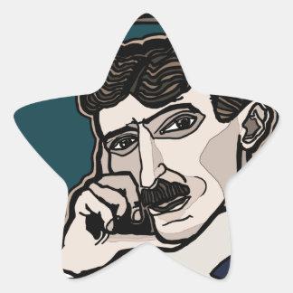 Adesivo Estrela NikolaTesla
