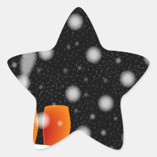 Adesivo Estrela No telhado