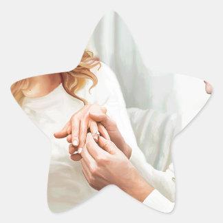 Adesivo Estrela Noivado de Yuletide