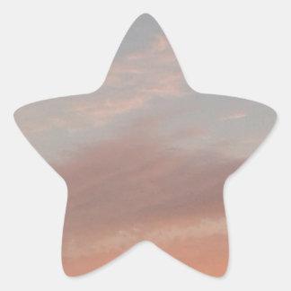 Adesivo Estrela Nuvens estranhas 2
