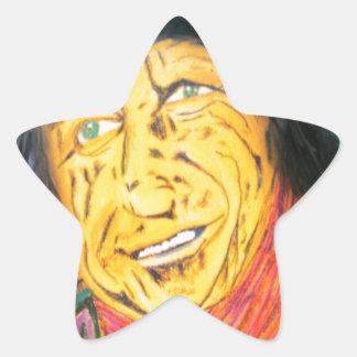 Adesivo Estrela O balancim Wrinkly