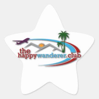 Adesivo Estrela O clube feliz do andarilho