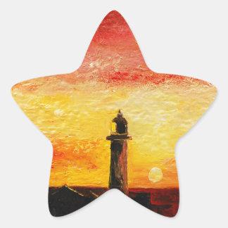 Adesivo Estrela O farol