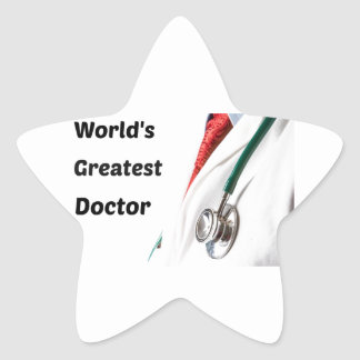 Adesivo Estrela O grande doutor Projeto do mundo