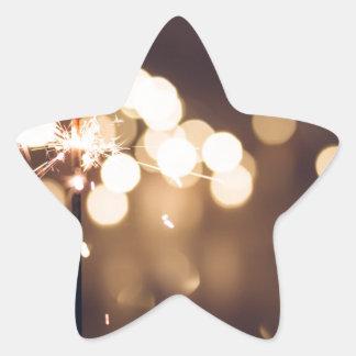 Adesivo Estrela O melhor presente de aniversário