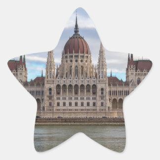 Adesivo Estrela O parlamento húngaro Budapest em o dia