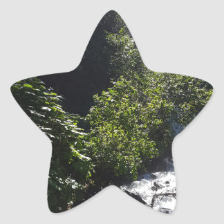 Adesivo Estrela O pioneiro cai montículo Alaska