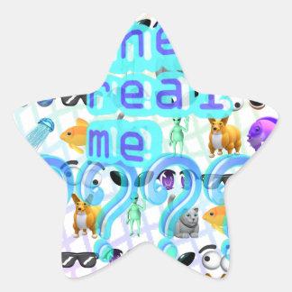 Adesivo Estrela O real mim