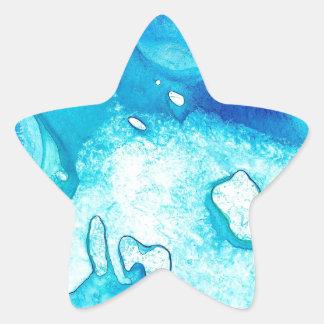 Adesivo Estrela Oceano Luna #