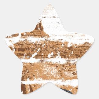 Adesivo Estrela Ocidental