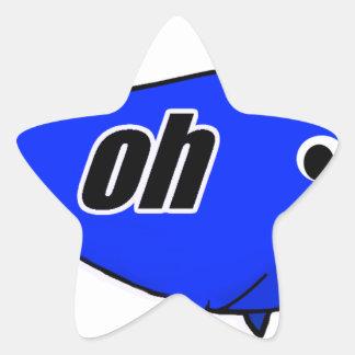 Adesivo Estrela Oh Wale oh