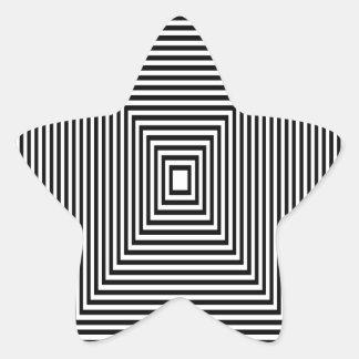 Adesivo Estrela Olhar de túnel