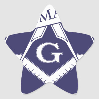 Adesivo Estrela Olho devista de Illuninati do Freemason