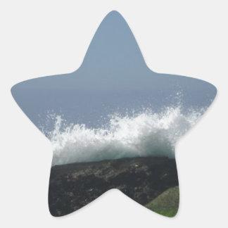 Adesivo Estrela Ondas de oceano