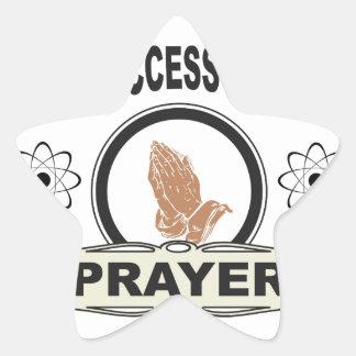 Adesivo Estrela oração do acesso aberto