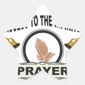 Adesivo Estrela oração infinita do acesso