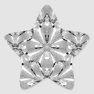 Adesivo Estrela Ornamentado oriental moderno