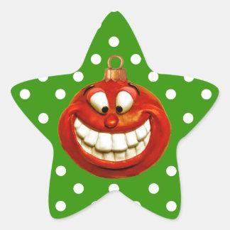 Adesivo Estrela Orniment alegre