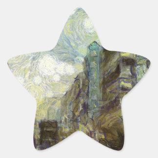Adesivo Estrela os anos 60 Hong Kong
