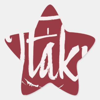 Adesivo Estrela Otaku orgulhoso