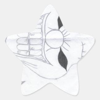 Adesivo Estrela palhaço assassino
