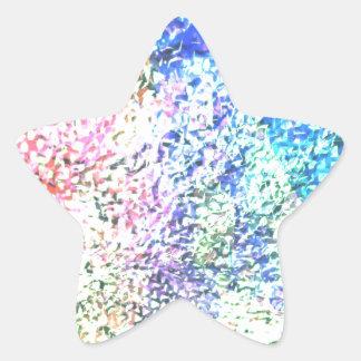 Adesivo Estrela Para o amor da cor - Pastel do caleidoscópio
