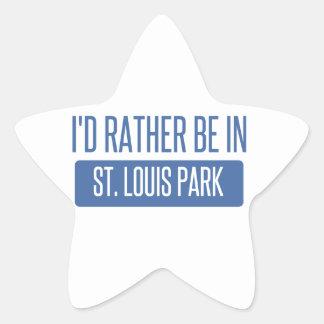 Adesivo Estrela Parque de St Louis