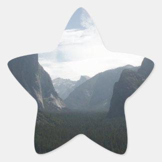 Adesivo Estrela Parque nacional de Yosemite