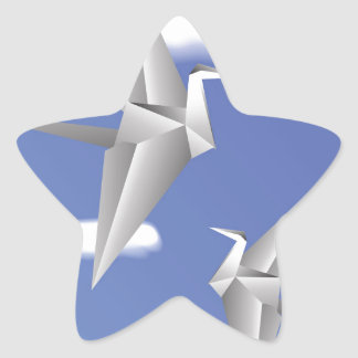 Adesivo Estrela pássaros 78Paper _rasterized