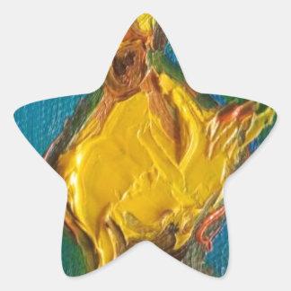 Adesivo Estrela Pato feliz