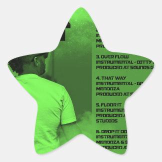 Adesivo Estrela Pavimente-o reverso dos Instrumentals