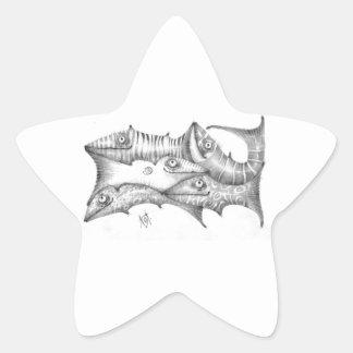 Adesivo Estrela Peixes