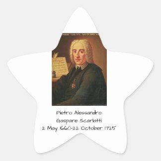 Adesivo Estrela Pietro Alessandro Gaspare Scarlatti
