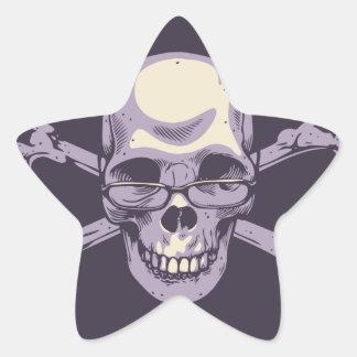 Adesivo Estrela Pirata Nerdy